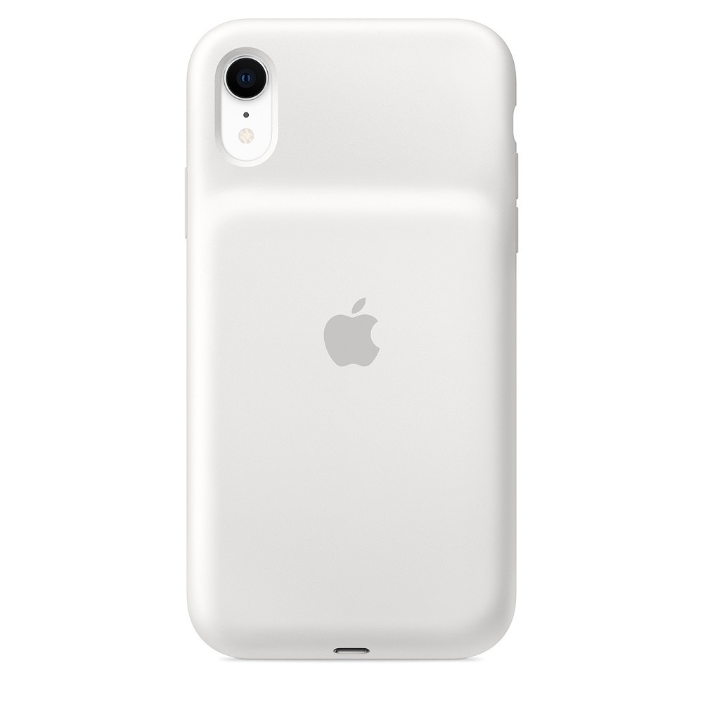 Чехол Apple Smart Battery Case для Apple iPhone XR | Цвет: белый