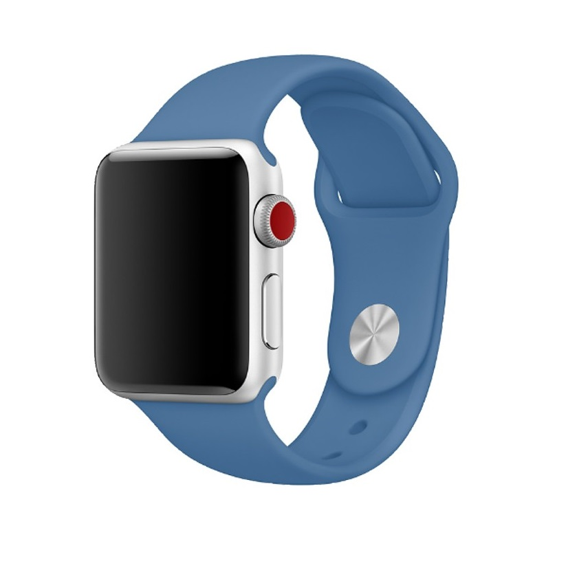 Trade in Ремешок для AW 42mm Blue Denim apple watch 42mm denim blue - 1