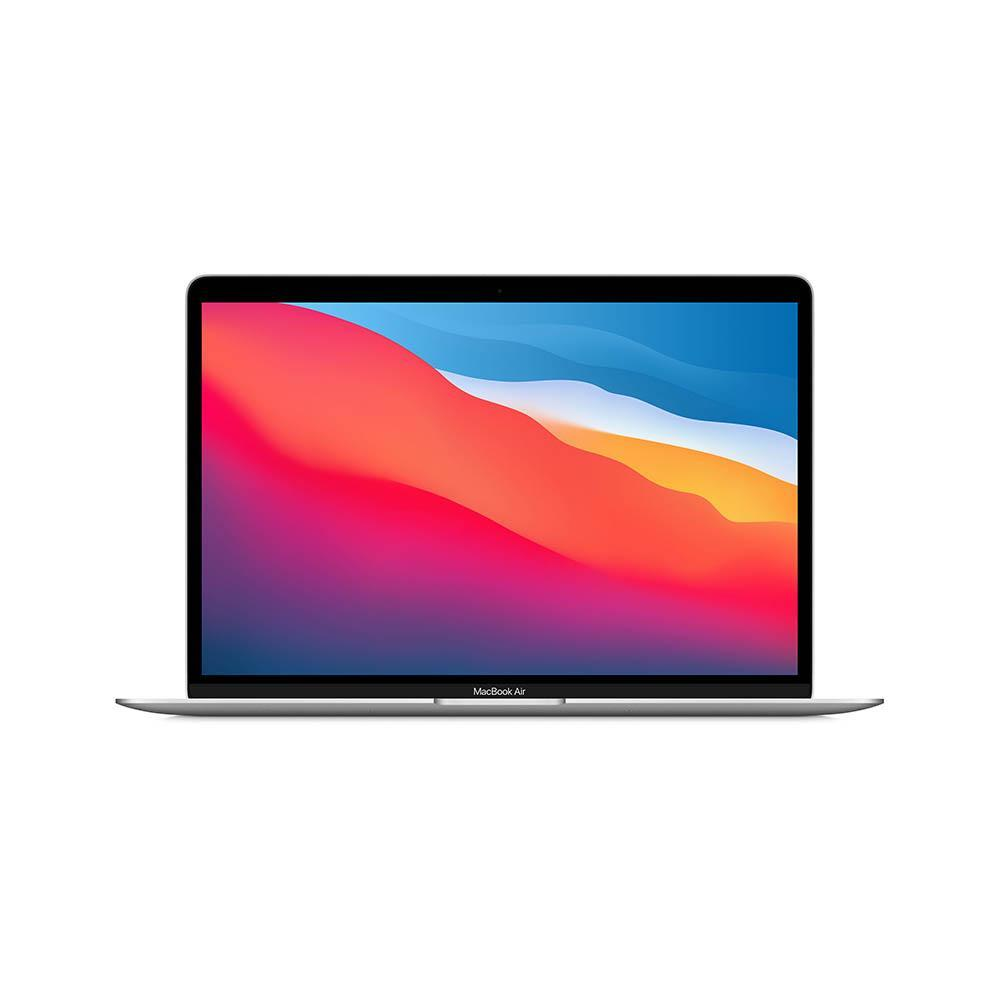 Ноутбук Apple MacBook Air (M1, 2020), 256GB SSD, Серебристый