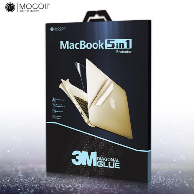 "Защитная пленка Mocoll 5в1 ""Black Diamond"" для Apple MacBook Pro 13"". Цвет: серебристый"