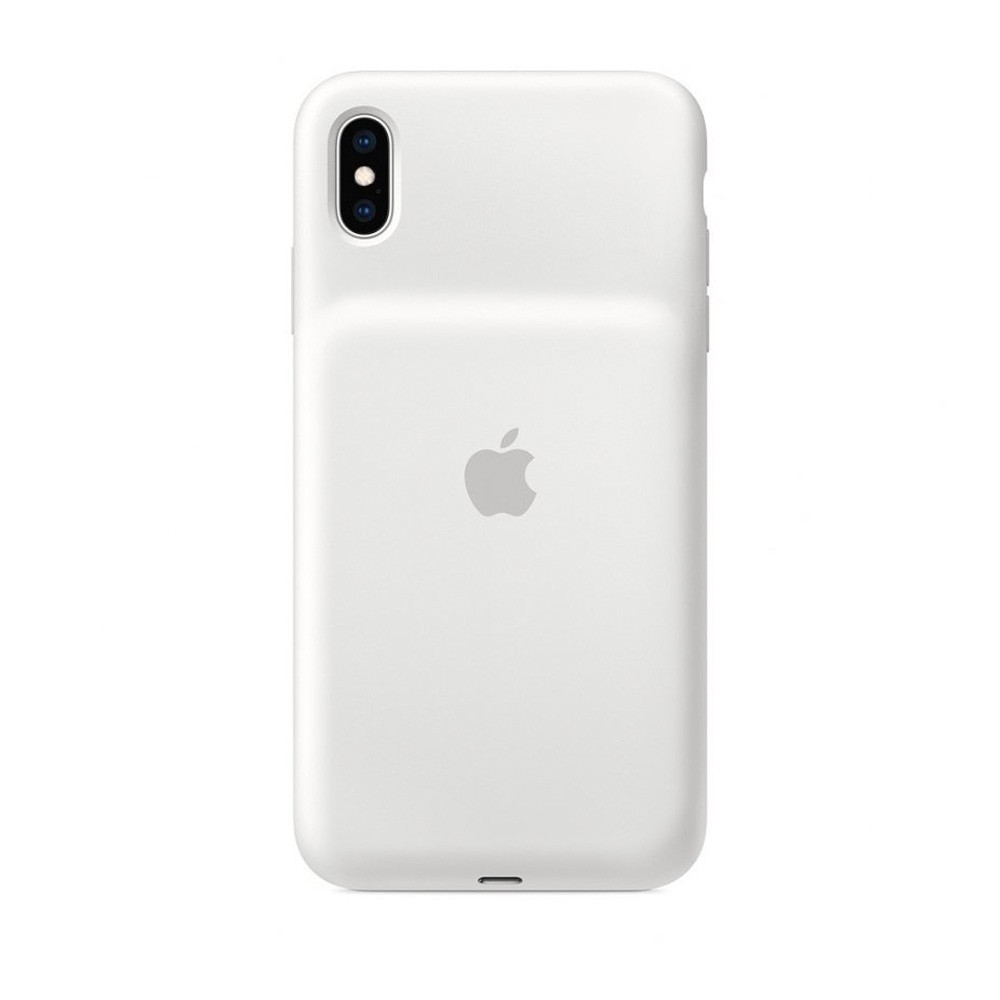 Чехол Apple Smart Battery Case для Apple iPhone XS. Цвет: белый