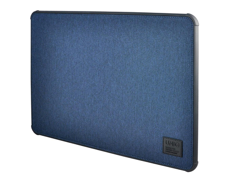 Чехол Uniq для Macbook Pro 13 (2016/2018) DFender Sleeve Kanvas Blue